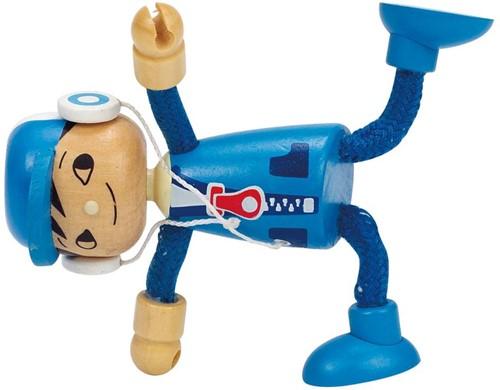 Hape poppenhuis poppen Modern Family Zoon-3