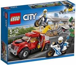 Lego  City politie Sleeptruck probleem 60137