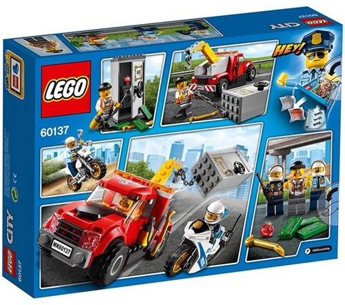 LEGO City Sleeptruck probleem 60137-2