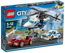 Lego  City politie Snelle achtervolging 60138