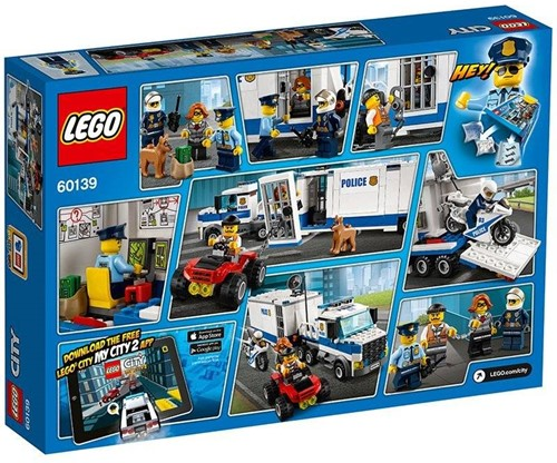 LEGO City Mobiele commandocentrale 60139-3