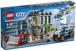 Lego  City politie bulldozer inbraak 60140