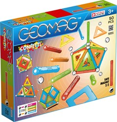 Geomag Confetti 50 delig
