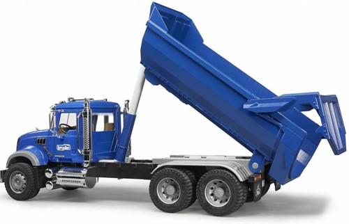 Bruder MACK Granite Halfpipe dump truck-2