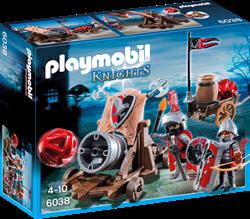 Playmobil Knights  - Groot kanon van de Valkenridders  6038