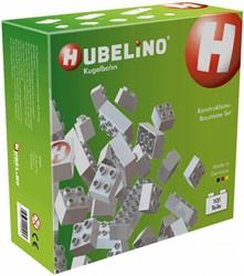 Hubelino  knikkerbaan accessoires wit 105-delig