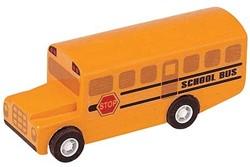 Plan Toys  Plan City houten speelstad voertuig Schoolbus