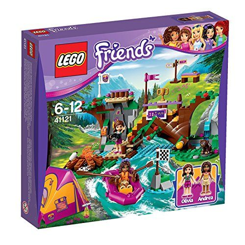 Lego Friends Avonturenkamp Wildwatervaren