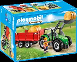 Playmobil Country  - Tractor met aanhangwagen  6130