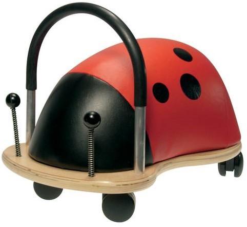 Wheelybug loopauto Lieveheersbeestje klein