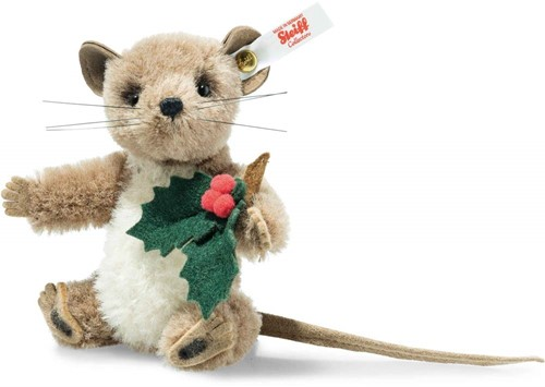 Steiff limited edition Holly mouse, brown/cream