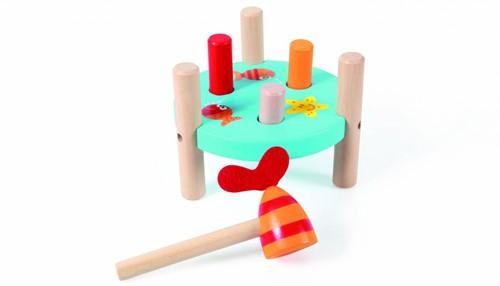 Scratch  houten leerspel Tap tap vis-1