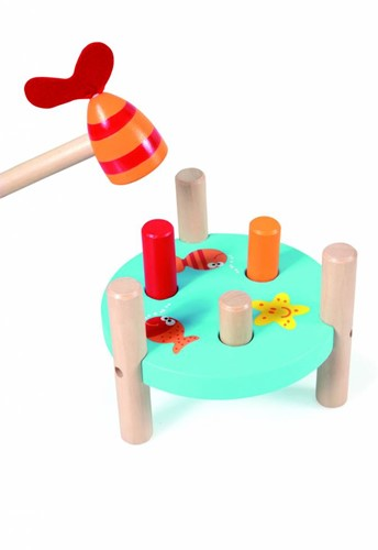 Scratch  houten leerspel Tap tap vis-2