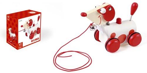 Scratch  houten trekfiguur Jack klein rood-2