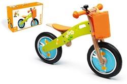 Scratch  houten loopfiets Oranje 32 40 cm