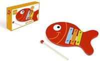 Scratch muziekinstrument Xylofoon Vis Do Mi Fa