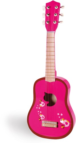 Scratch muziekinstrument Gitaar Love Birds-2