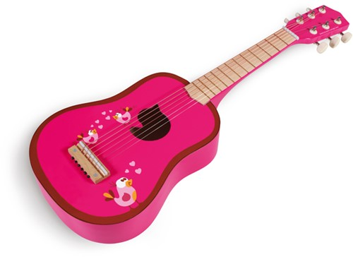 Scratch muziekinstrument Gitaar Love Birds-3