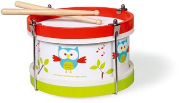 Scratch muziekinstrument Trommel Uil Lou-2