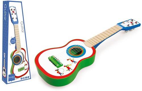 Scratch muziekinstrument Gitaar Fanfare