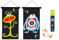 Scratch  actiespel Dartspel monsters