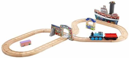 Thomas and Friends  houten trein set Celebration on Sodor Set-3