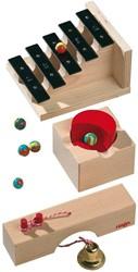 Haba  houten knikkerbaan accessoires Uitbreiding Klanktrap