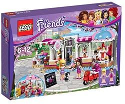 Lego  Friends gebouw Heartlake cupcake cafe 41119