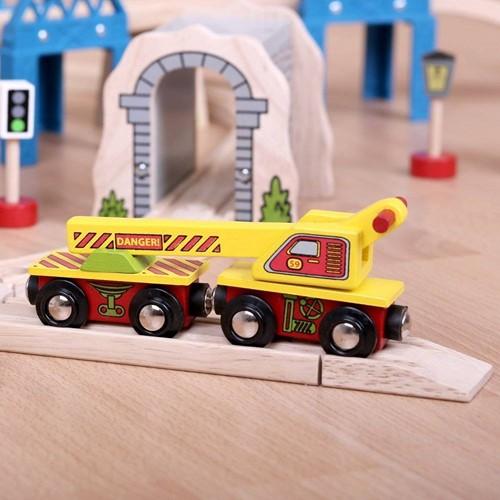 BigJigs Crane Wagon (4)-3