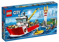 Lego  City brandweer Brandweerboot 60109