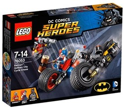 Lego  Super Heroes set Batman Gotham City motorjacht 76053