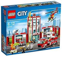 Lego  City brandweer Brandweerkazerne 60110