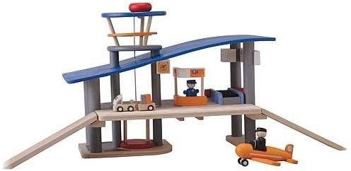 Plan Toys  Plan City houten speelstad gebouw Vliegveld-1