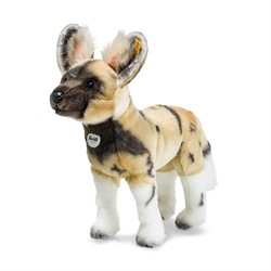 Steiff Aboki African wild dog, blond/brown/white