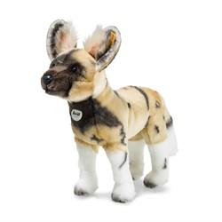 Steiff knuffel Aboki African wild dog, blond/brown/white 38 cm