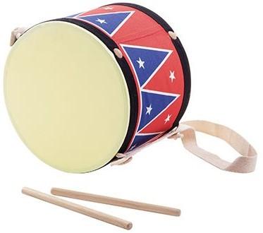 Plan Toys houten muziekinstrument grote trommel