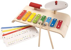 Plan Toys  houten muziekinstrument Musical Set