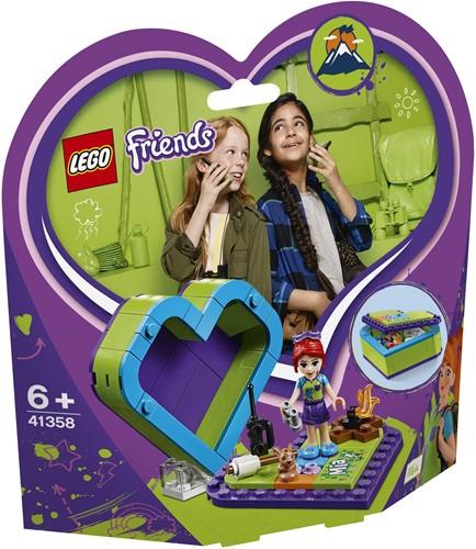 LEGO Friends Mia's hartvormige doos 41358
