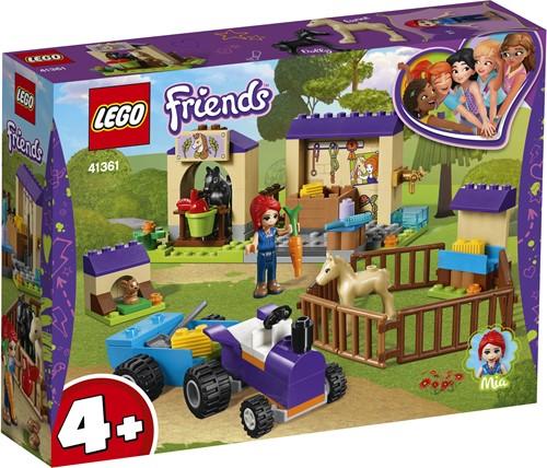 LEGO Friends 4+ Mia's veulenstal 41361