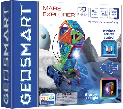 GeoSmart GeoSmart Mars Explorer - 51 pcs