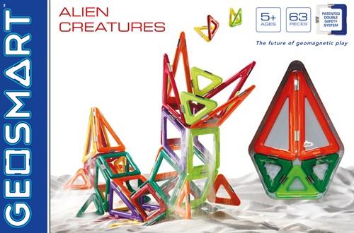 GeoSmart GeoSmart Alien Creatures - 63 pcs-2
