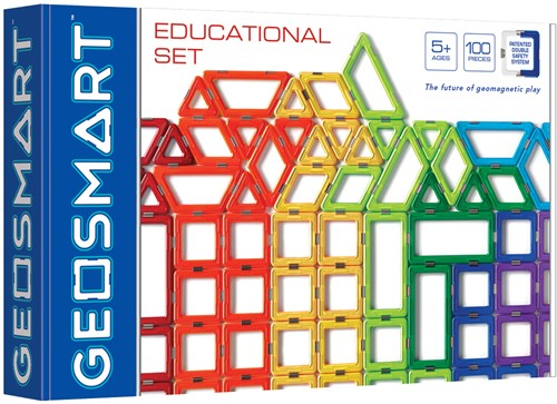 GeoSmart GeoSmart Educational Set - 100 pcs