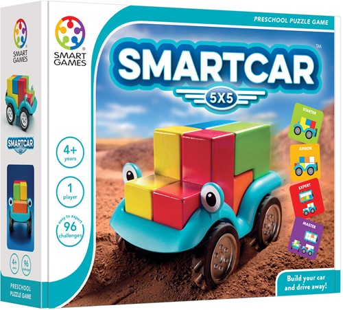 Smart Games spel SmartCar 5x5