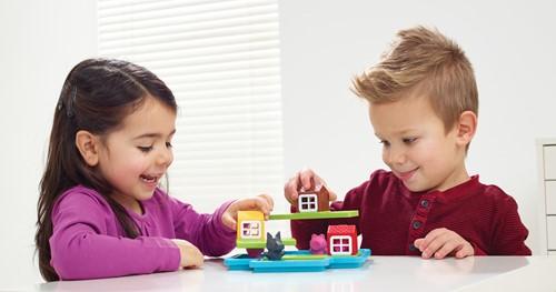 Smart Games spel Drie Kleine Biggetjes - Deluxe-3