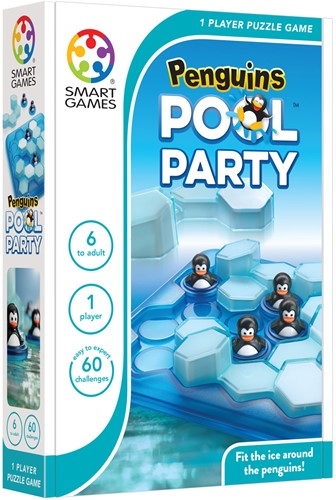 Smart Games spel Penguins Pool Party-2