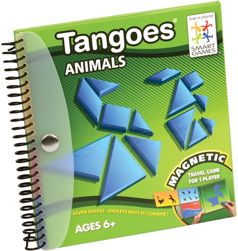 Smart Games spel Magnetic Travel SmartGames, Tangoes Animals-2