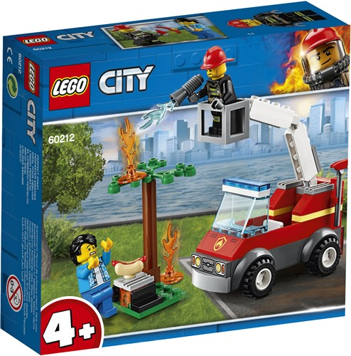 LEGO City 4+ Barbecuebrand blussen 60212