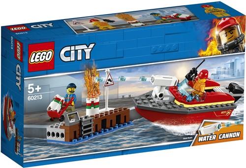 LEGO City Brand aan de kade - 60213