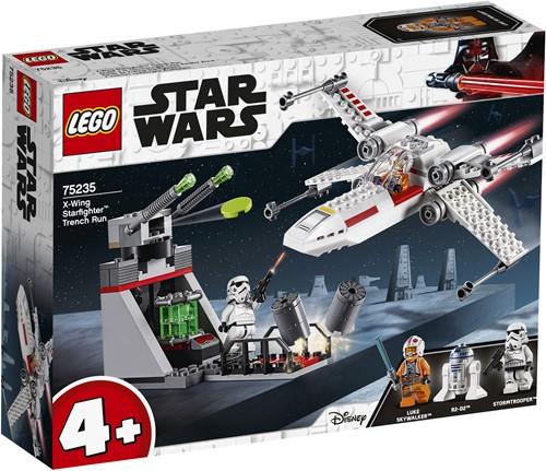 LEGO Star Wars 4+ X-Wing Starfighter Trench Run 75235