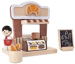 Plan Toys Plan City houten speelstad gebouw The Bakery